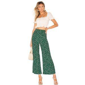 NWT Faithful the Brand Gabrielle Green Floral Pant